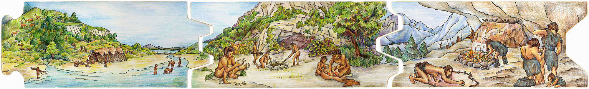 from 1 million to 22.000 years ago 7-9