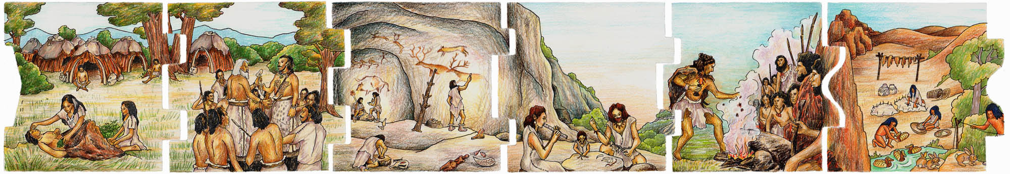 from 22.000 years ago until the Middle Ages7-12