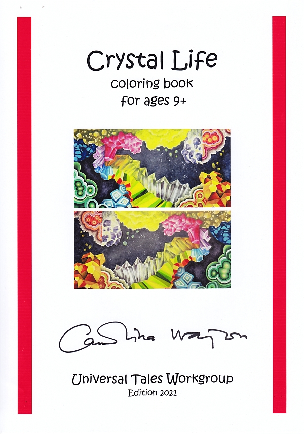 coloring book universal tales carolina wajon